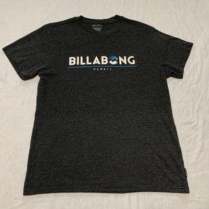 Billabong Hawaii Men's Gray T Shirt
